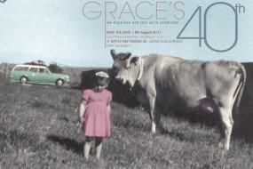 Grace's 40th Birthday Invite